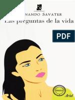 Savater-Las Preguntas de La Vida
