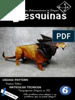 4 Esquinas #6 - Revista de Origami