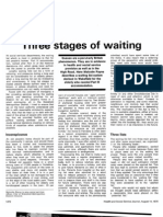 3 Stages of Waiting