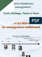 Les pères fondateurs du management et les dérives du management traditionel