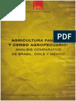 Agricultura Familiar y Censo Agropecuario. Brasil Chile y Mexico