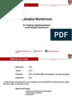 UP Métodos Sesión I Proyecto AjusteLineal Ene 13 2014