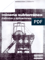 Guia de La Mineria Subterranea Metodos y Aplicaciones