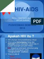 Penyuluhan HIV AIDS 2014.ppt