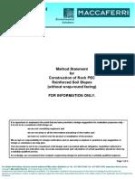 PolyfeltPEC(Rock)-Method Statement Without WrapAround