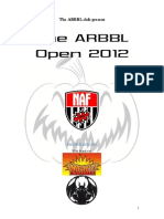 Arbbl Open 2012 latest