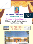 Old Age Home Project
