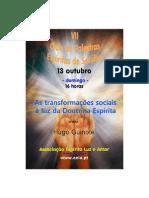VII Ciclo de Palestras Espíritas de Setúbal