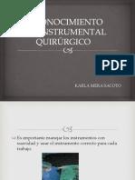 Reconocimiento Del Instrumental Quirúrgico