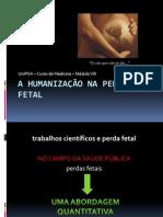 A Humanização Na Perda Fetal 1