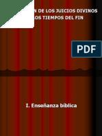 Pp. Panorama de Los Juicio Divinos Para Los Tiempos Del Fin