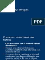 Examen de testigos (2)