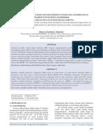 Dokumen 3318 Volume 12 Nomor 3 Desember 2011 Pemanfaatan Suhu Udara Dan Kelembapan Udara Dalam Persamaan Regresi Untuk Simulasi Prediksi Total Hujan Bulanan Di Bandar Lampung