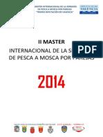 Bases Master La Serrania