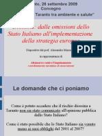 Diossine, omissioni dello Stato e strategia europea.