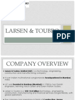 larsen and toubro organisational culture