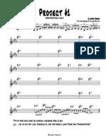 Jazz Improvisation Project 1 - Concert Part