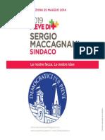 Programma Democratici Per Pieve 2014 - Sergio Maccagnani Sindaco