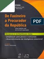 Manoel Pastana - De Faxineiro a Procurador Da República - 3ª Edição - Ano 2012 - Cópia