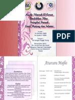 Majlis Tilawah Al-Quran  Daerah Larut Matang dan Selama 2009