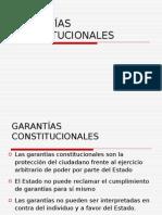 garantías constitucionales y proceso penal