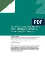 CARVALHO, A.C. e CARVALHO, D.F. as Críticas de Marx e Keynes à Teoria Neoclássica