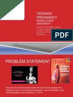 teenage pregnancy group projectrecent