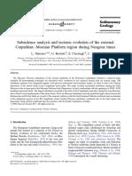 2003 - L Matenco - Subsidenceanalysisandtectonicevolutionoftheexterna[Retrieved 2014-03-06]