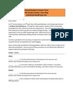 blog consent form