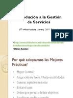 3 Modulo ITIL-IntroducionGestionServicios
