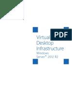 Windows Server 2012 R2 Virtual Desktop Infrastructure White Paper
