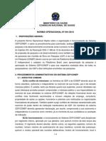 CNS Norma Operacional 001 - Conep Finalizada 30-09