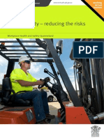 Forklift Safety Reducing Risks