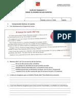 Guia de Trrabajo. Evaluacion Lenguaje y Comunicacióm