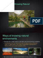 ways of knowing natural environments
