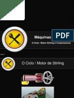 Stirling e Compressores - Máqs. Térmicas