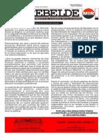 El Rebelde - Edición Especial - 1° de Mayo de 2014