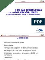 Adopcion de Las Tecnologias de Informacion Libres