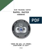 Handbook Rappel Master