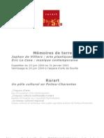 Mémoire de terre - Dossier de presse