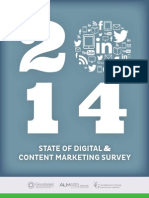 2014 State of Digital & Content Marketing Survey
