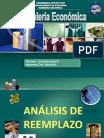 7-Ingenieria Economica Analisis Reemplazo 2013