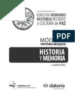 Historia Reciente DDHH Py