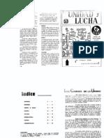 Unidad y Lucha 053 Noviembre 1981