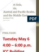 Map Final Review- Lectures 9-12
