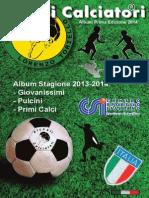 Album Piccoli Calciatori con Figurine
