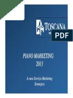 Piano Marketing 2013