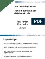 Framtidens Utbildn i Norden