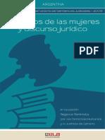 Derechos de Las Mujeres y Discurso Juridico
