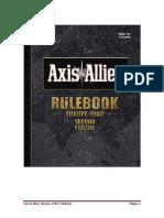 Axis Allies 1940 Europe